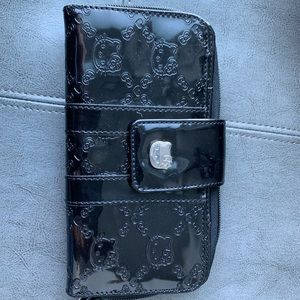 Hello Kitty Black Wallet